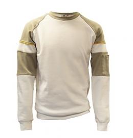 Be-Wear sweater wit/grijs