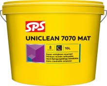 SPS Uniclean 7070 Mat binnen 10ltr wit
