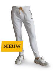 Be-Wear joggingbroek wit