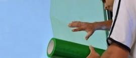 Raamfolie zelfklevend 50cmx100mtr 2 maanden UV-bestendig