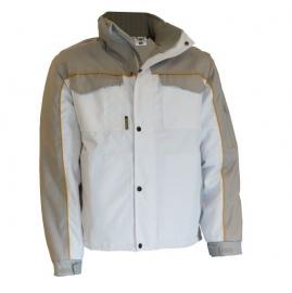 Be-Wear jack wit/grijs