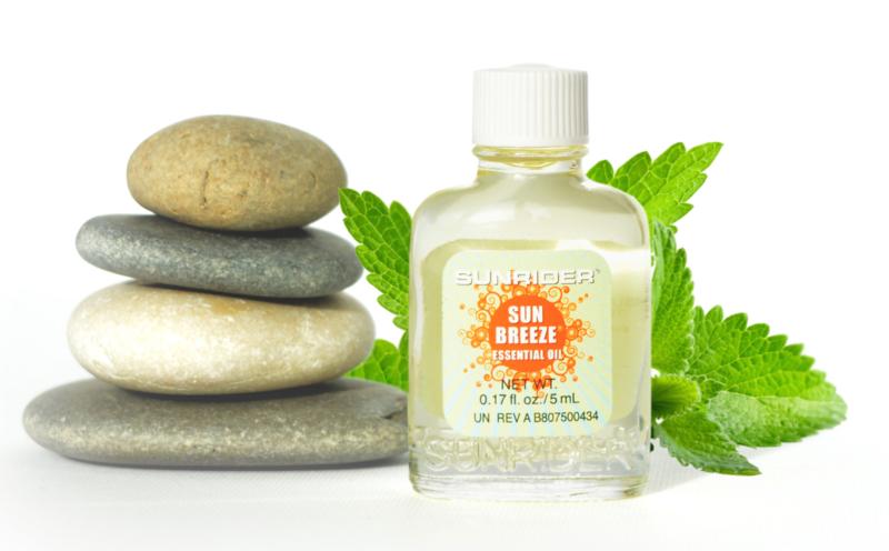 Sunbreeze® olie verlicht bij hoofdpijn en verkoudheid
