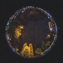 Sfeerfoto Munsterplein - Fotopapier