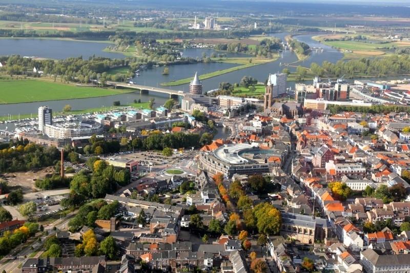 Luchtfoto Roermond - Fotopapier