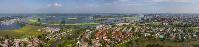 Panoramafoto Roermond, stad aan het water 200 x 47