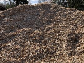 Houtsnippers 1000 Liter Los gestort afgehaald