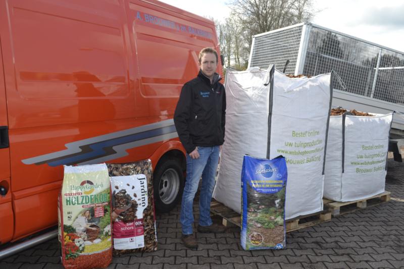 Denneschors 20/50 mm 1000 Liter Big Bag