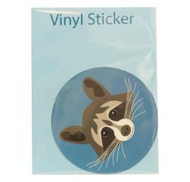 Vinyl sticker Wasbeer