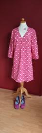 Roze bloemen jurk