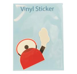 Vinyl sticker Keteltje