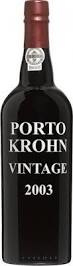 Krohn Vintage 2003 Port 0,75 Liter