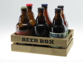 Beer Box 6 buikfles