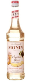 MONIN WHITE CHOCOLATE SIROOP 70 cl