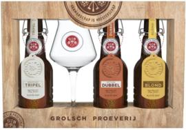 GROLSCH PROEVERIJ GESCHENKVERPAKKING135 cl