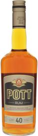 POTT rum bruin 40% 0,70 ltr