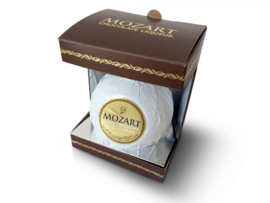 Mozart, White Chocolate in Gift 50 cl