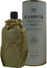RAMPUR Indian Single Malt whisky 0,70 ltr