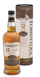 TOMINTOUL 12YO SINGLE MALT OLOROSO CASK FINISH 0,70 LTR.