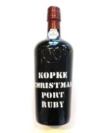 Kopke Christmas port + 2 glazen in luxe doos.