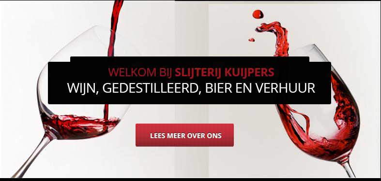 Slijterij wijnhandel Kuijpers - Wijn, gedestilleerd, bier en verhuur