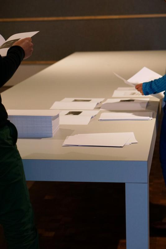 Book III, test arrangement Van Abbemuseum