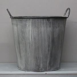 Metalen Emmer maat L