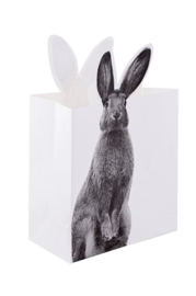Decoratieve paperbag Rabbit