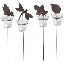 Tuinkandelaar Insecten gietijzer