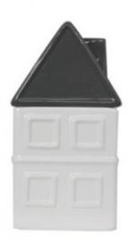 Voorraadpot huis keramiek 17 cm