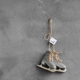 Decoratieve Hanger Schaatsen Donkergrijs