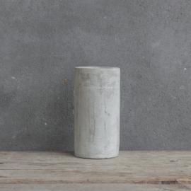 Waxinelichthouder Cement Rond