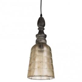 Georgia Gold glazen hanglamp ALLEEN AF TE HALEN IN DE WINKEL