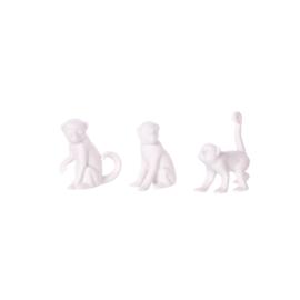 Aapje Mowgli klein - zittend poot omhoog