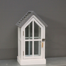 Wood Cottage Lantern S   ALLEEN AF TE HALEN IN DE WINKEL
