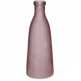 Glazen fles roze PTMD Small