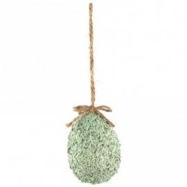 Decoratie paasei Groen