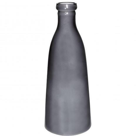 Glazen fles grijs PTMD Small