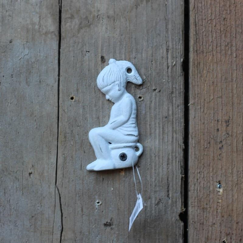 Toiletbordje Meisje