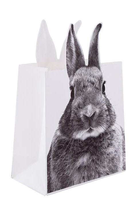 Decoratieve paperbag Rabbit