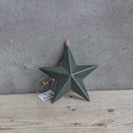Hanger Kerstster 13 cm