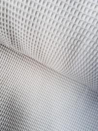 Wafelkatoen soepel ART WF24 lichtgrijs  € 5,95 per meter. 5 meter voor