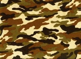 Legerstof ( Army) € 4,95 per meter ART B002