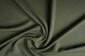 Spandex stretch € 5,95 per meter Art 34  Kleur kaki groen