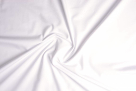 Tricot Uni 155 cm breed kleur wit € 5,50  p/meter Art 023