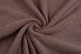 Polar Fleece .  Art0145  Kleur taupe  - 5 meter