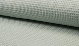Wafelkatoen 100% katoen . kleur Oud groen    ART WF0186-023  - 1 meter voor
