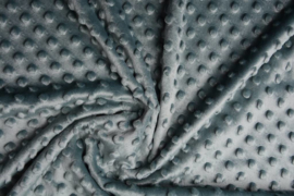 Minky fleece  oud groen Art MD134 - 5 meter