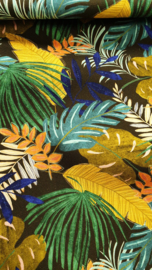 Canvas tropical     Art CA001 - 1 meter voor