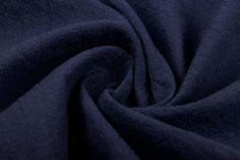 Gewassen katoen  Art:1031  kleur blauw  - 5 meter voor