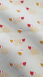 100%  katoen   Birds  Art PP6651 - 1 meter voor